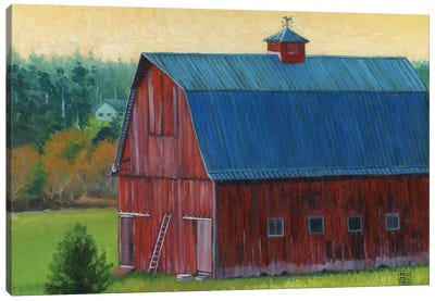 Henry Strong Barn Canvas Art Print