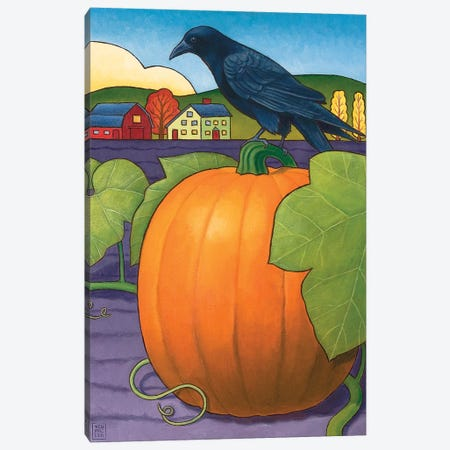 Its A Great Pumpkin Canvas Print #SNM46} by Stacey Neumiller Canvas Art