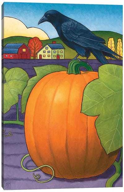 Its A Great Pumpkin Canvas Art Print