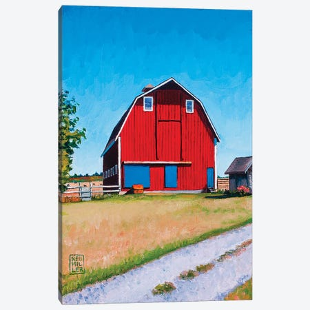 Jenne Farm Canvas Print #SNM47} by Stacey Neumiller Canvas Art