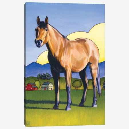 Mac Attack Canvas Print #SNM52} by Stacey Neumiller Canvas Artwork