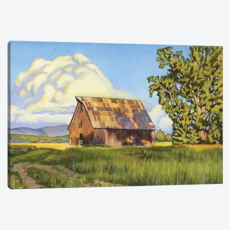 Olsen Barn Canvas Print #SNM59} by Stacey Neumiller Canvas Art