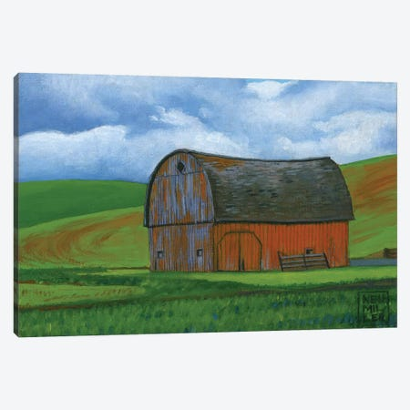 Palouse Barn I Canvas Print #SNM60} by Stacey Neumiller Canvas Art Print