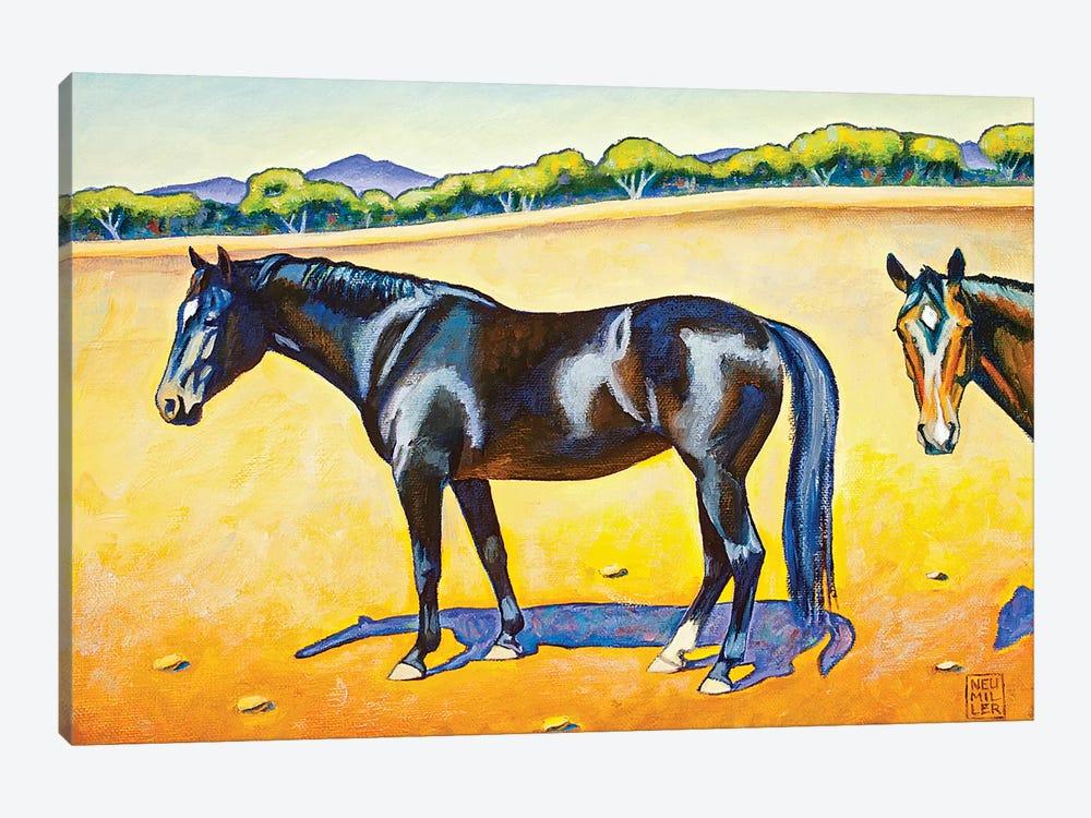 Pasture Pals II by Stacey Neumiller 1-piece Canvas Artwork