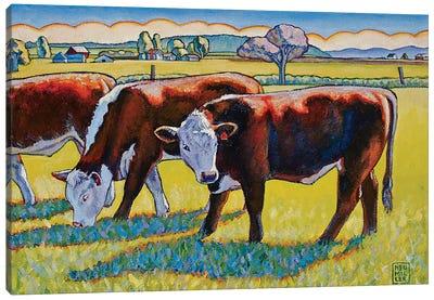 Prairie Lunch Canvas Art Print