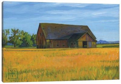 Skagit Valley Barn Canvas Art Print