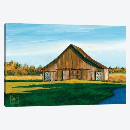 Skagit Valley Barn III Canvas Print #SNM84} by Stacey Neumiller Canvas Artwork