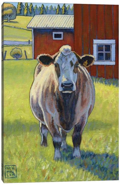 Big Bonnie Lass Canvas Art Print