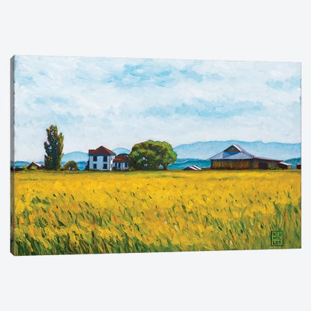 Smith Farm Canvas Print #SNM90} by Stacey Neumiller Canvas Artwork
