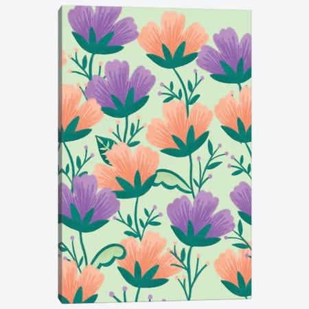 Butterfly Garden III Canvas Print #SNN11} by Taylor Shannon Art Print