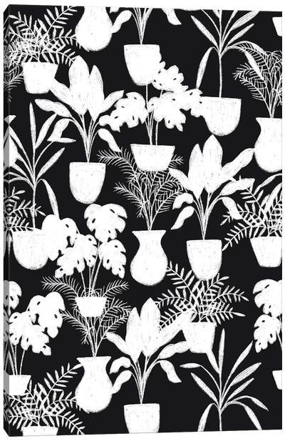 Abstract Flora I Canvas Art Print