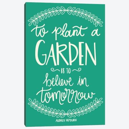 Flower Garden Canvas Print #SNN15} by Taylor Shannon Canvas Artwork