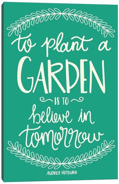 Flower Garden Canvas Art Print