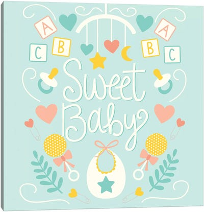 Sweet Baby Canvas Art Print