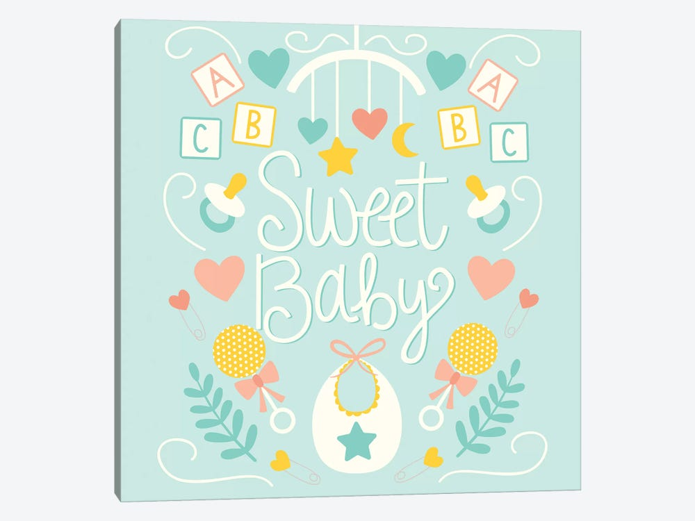 Sweet Baby by Taylor Shannon 1-piece Canvas Art Print