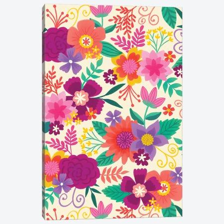 Joyful Blooms I Canvas Print #SNN6} by Taylor Shannon Canvas Art Print