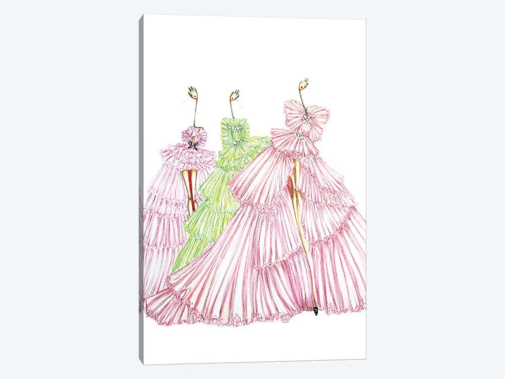Giambattista Valli Multi by Sofie Nordstrøm 1-piece Art Print