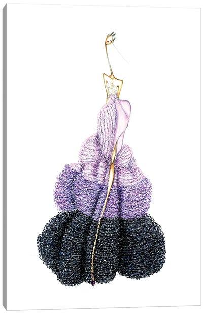 Givenchy Purple Canvas Art Print