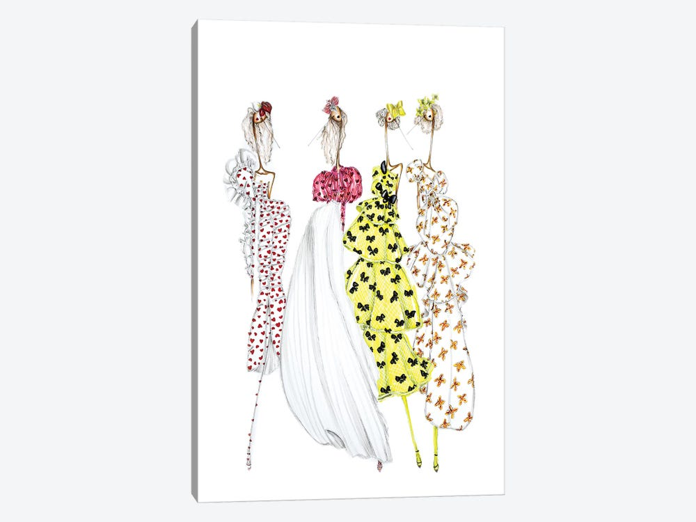 Rodarte Heart 1-piece Art Print