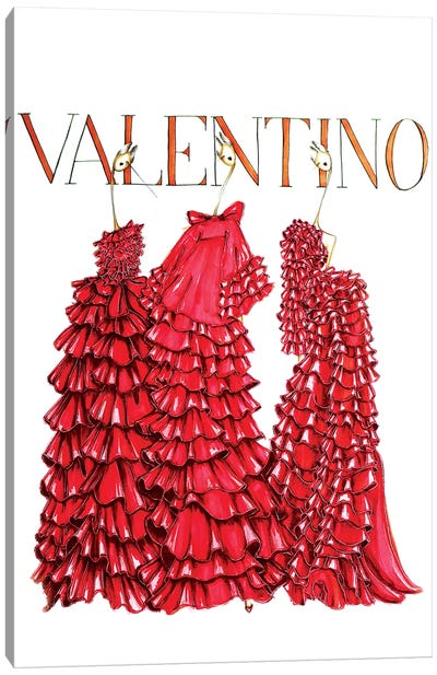 Valentino Cover Canvas Art Print