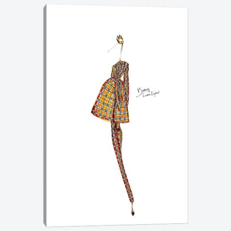 Burberry Canvas Print #SNR2} by Sofie Nordstrøm Canvas Art Print