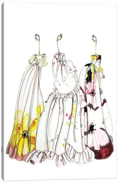 Valentino Flower Canvas Art Print