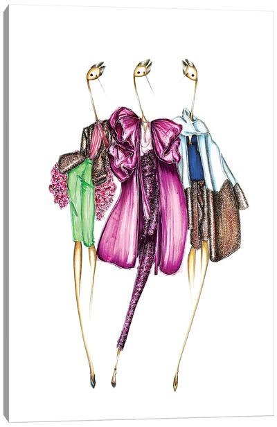 Valentino Sparkle Canvas Art Print
