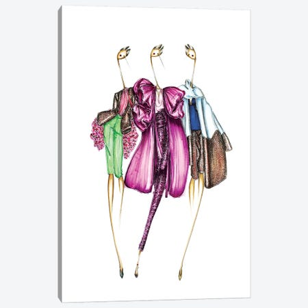 Valentino Sparkle Canvas Print #SNR35} by Sofie Nordstrøm Canvas Art