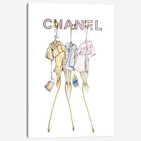 Chanel Cover Canvas Print #SNR7} by Sofie Nordstrøm Canvas Artwork