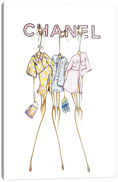 Chanel Cover Canvas Art Print