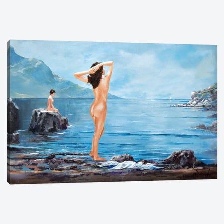 Nymphs Canvas Print #SNS100} by Sinisa Saratlic Canvas Art Print