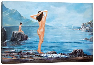 Nymphs Canvas Art Print