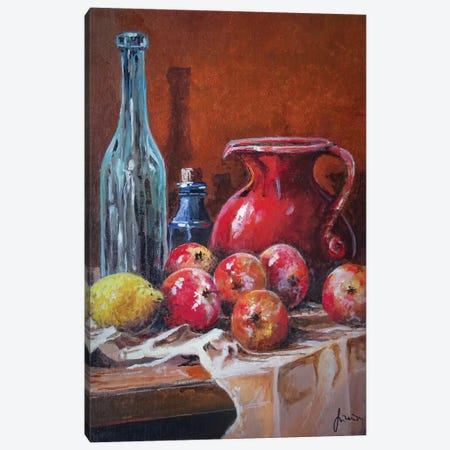 Fruits Canvas Print #SNS108} by Sinisa Saratlic Canvas Art Print