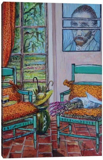 The Colors Of Vincent Canvas Art Print