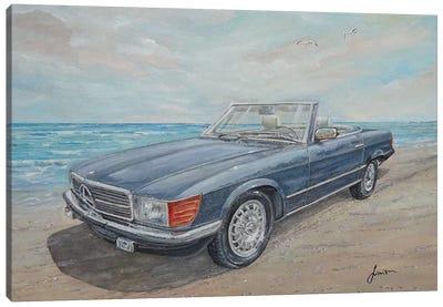 1984 Mercedes-Benz 500 Sl Canvas Art Print