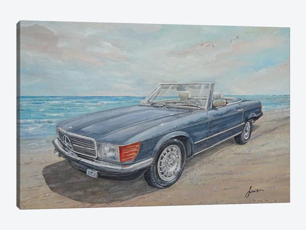 1984 Mercedes-Benz 500 Sl by Sinisa Saratlic 1-piece Canvas Art Print