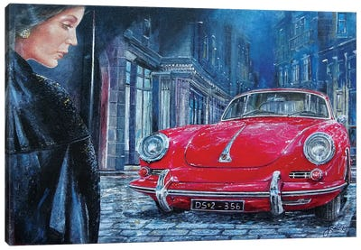 1964 Porsche 356 C Canvas Art Print