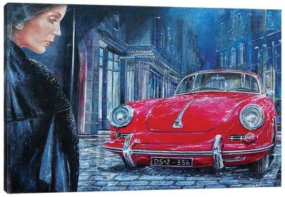 1964 Porsche 356 C Canvas Art Print