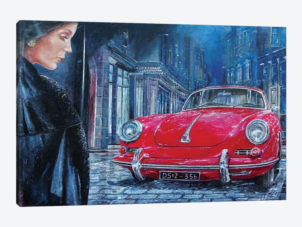 1964 Porsche 356 C by Sinisa Saratlic 1-piece Canvas Art
