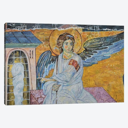 Archangel Gabriel Canvas Print #SNS125} by Sinisa Saratlic Canvas Art
