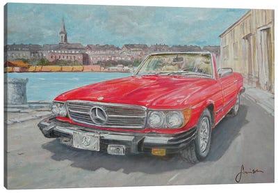 1978 Mercedes Benz 450 SL Canvas Art Print