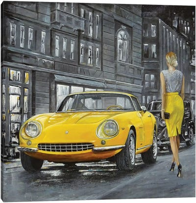 1965 Ferrari 275 GTB Canvas Art Print