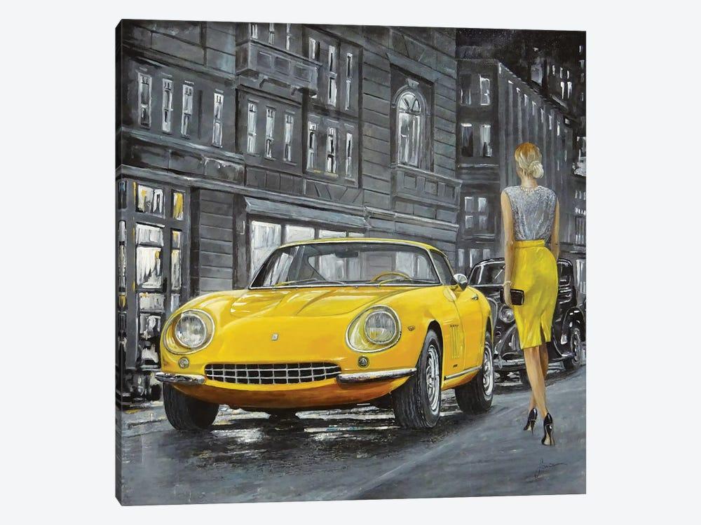 1965 Ferrari 275 GTB by Sinisa Saratlic 1-piece Canvas Print