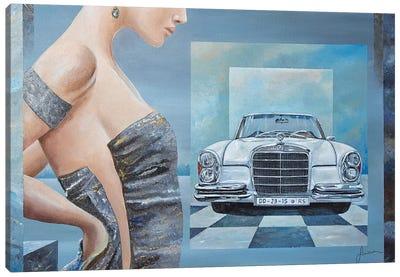 1968 Mercedes-Benz 280 SE Cabriolet Canvas Art Print