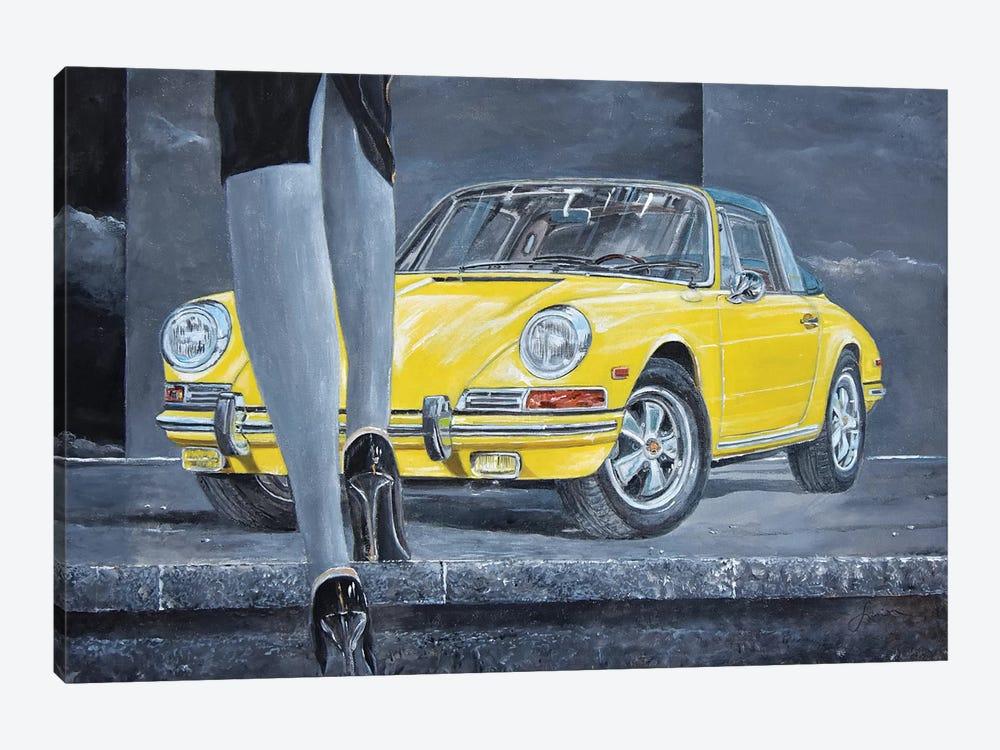1968 Porsche 911 Targa by Sinisa Saratlic 1-piece Canvas Art