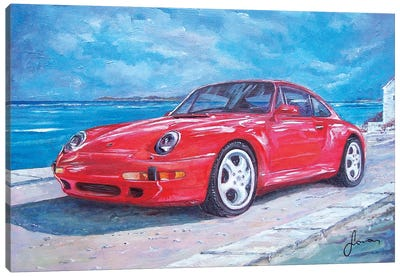 1997 Porsche Carrera S Canvas Art Print