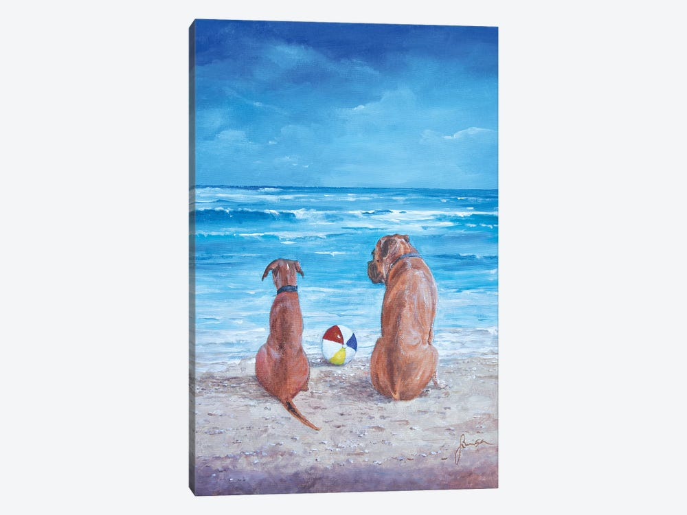 Best Friends by Sinisa Saratlic 1-piece Canvas Art Print