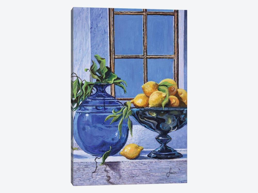 Lemons by Sinisa Saratlic 1-piece Canvas Print