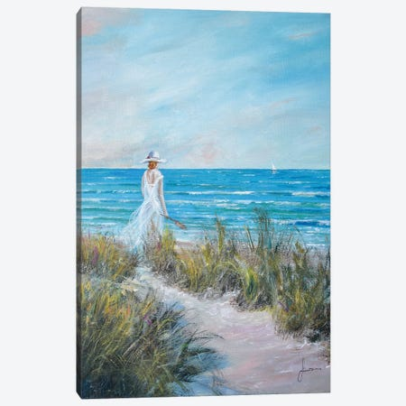 Ocean Breeze Canvas Print #SNS42} by Sinisa Saratlic Canvas Print