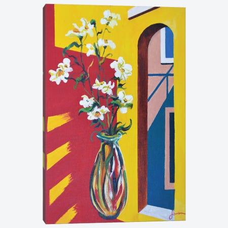 Window Canvas Print #SNS49} by Sinisa Saratlic Art Print